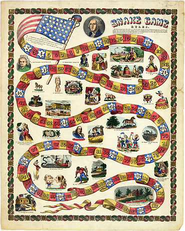 George Washington snake game, 1840-60.jpg