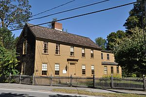Adams–Clarke House - Image: Georgetown MA Adams Clarke House