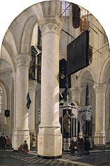 Le tombeau de Guillaume Ier, prince d'Orange, dans le Nieuwe Kerk à Delft