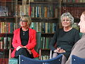 Germaine Greer and others, University of Melbourne, 28 October 2013.jpg