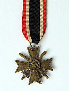 War Merit Cross federal decoration of Germany during World War II
