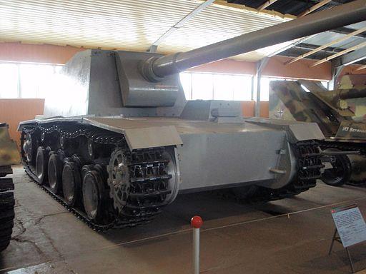 German heavy SP gun on VK3001(H) chassis