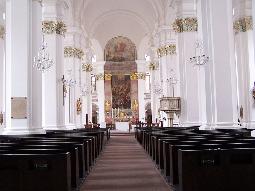 Germany Heidelberg Jesuitenkirche
