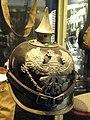 Germany enlisted man's spiked helmet (pickelhaube) - National World War I Museum - Kansas City, MO - DSC07519.JPG