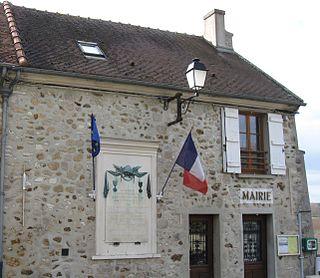 Germigny-sous-Coulombs Commune in Île-de-France, France