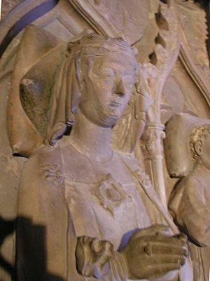 Gertrude of Hohenberg - Queen's tomb in Basel Minster