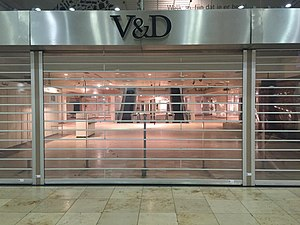 V&D - Image: Gesloten V&D in Utrecht na faillissement (2)