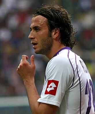 Giampaolo Pazzini - Pazzini with Fiorentina.