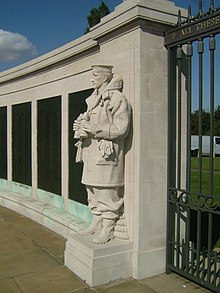 Chatham Naval Memorial on the Gillingham Great Lines