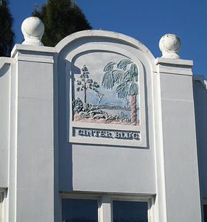 Ginter Building - Detail of the facade