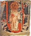 Gioacchino da Fiore, miniatura sec. XIV, Codice Chigiano, Biblioteca Apostolica Vaticana, Roma.jpg