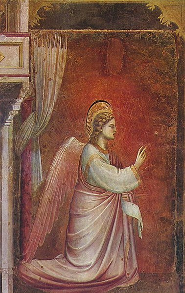 Giotto - Scrovegni - -14- - The Angel Gabriel Sent by God.jpg
