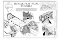 Glacier Point Road, 1882 - Yosemite National Park Roads and Bridges, Yosemite Village, Mariposa County, CA HAER CAL,22-YOSEM,5- (sheet 7 of 19).png