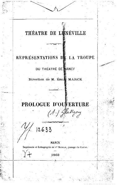 File:Glatigny - Théâtre de Lunéville, 1863.djvu