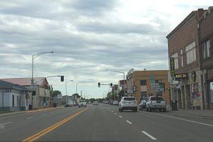 Glendive, Montana - Merrill Avenue, 2016