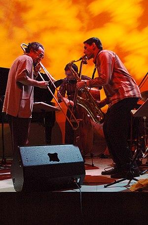 Glenn Ferris - Glenn Ferris (at left).