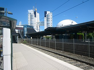 Globen metro station - Image: Globen Metrostation 2010