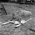 Gnojni koš (od zadaj lahko odprt ali zaprt), pri G?rdineti, Črešnjevec 1956.jpg