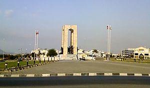 Gönyeli - Monument of National Struggle and Liberation in Gönyeli