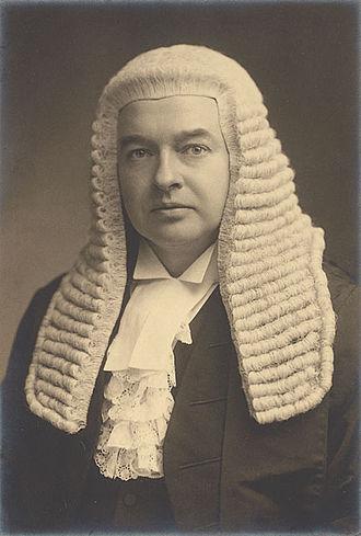 Gordon Hewart, 1st Viscount Hewart - Image: Gordon Hewart, 1st Viscount Hewart