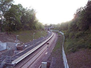 Gorebridge railway station