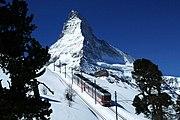 Gornergratbahn and Matterhorn