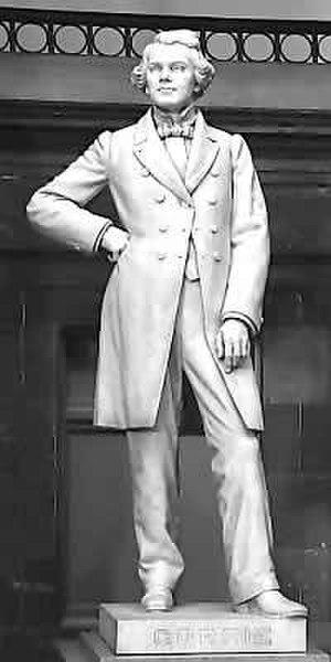 John Gorrie - NSHC statue of John Gorrie