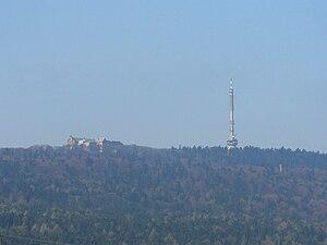Święty Krzyż TV Tower - View at Święty Krzyż