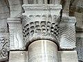 Gournay-en-Bray (76), collégiale St-Hildevert, bas-côté sud, chapiteaux du 2e pilier libre, côté sud.jpg