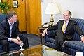 Governor John Hickenlooper Jr. meets with Thomas Perez, January 2015 (2).jpg