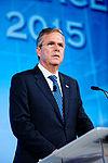 Governor of Florida Jeb Bush at Southern Republican Leadership Conference, Oklahoma City, OK May 2015 by Michael Vadon 143.jpg
