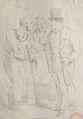 Grévin A. (attr.??) - Pencil - Un bourgeois et ses concierges - 12x19cm.jpg