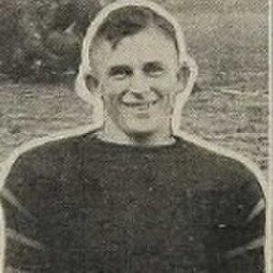 Grailey Berryhill - Berryhill in football uniform, c. 1919