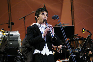 Eurovision Young Musicians - The 2008 winner, Dionysios Grammenos from Greece.