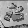 Granada Relocation Center, Amache, Colorado. Zori (straw sandals) and Geta (wooden clogs) made at G . . . - NARA - 539914.tif