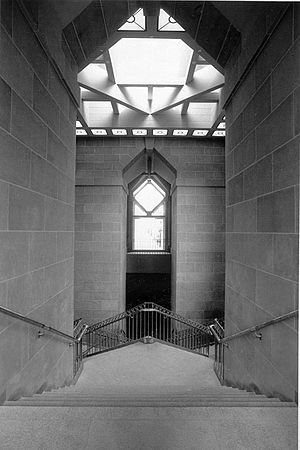 Arthur M. Sackler Gallery - The grand staircase at the Sackler.