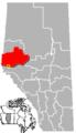 Grande Cache, Alberta Location.png