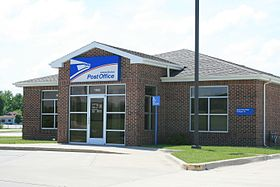Granger Iowa 20090607 Post Office.JPG