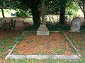 Grave in St Mary's Churchyard Shelton Notts in August 2015.jpg