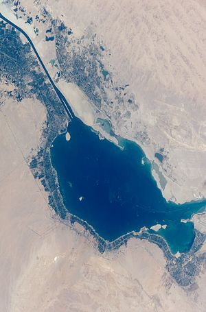 Great Bitter Lake from space (hires) rotated1.jpg