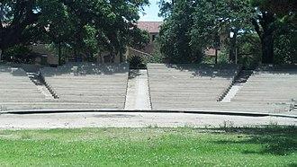 Greek Theatre (Baton Rouge) - Image: Greek Theatre (Baton Rouge) Stage View
