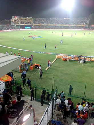 Green Park Stadium - Image: Green Park Stadium during an IPL match (1)