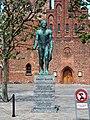 Grenaa, Statue of Soren Kanne.JPG