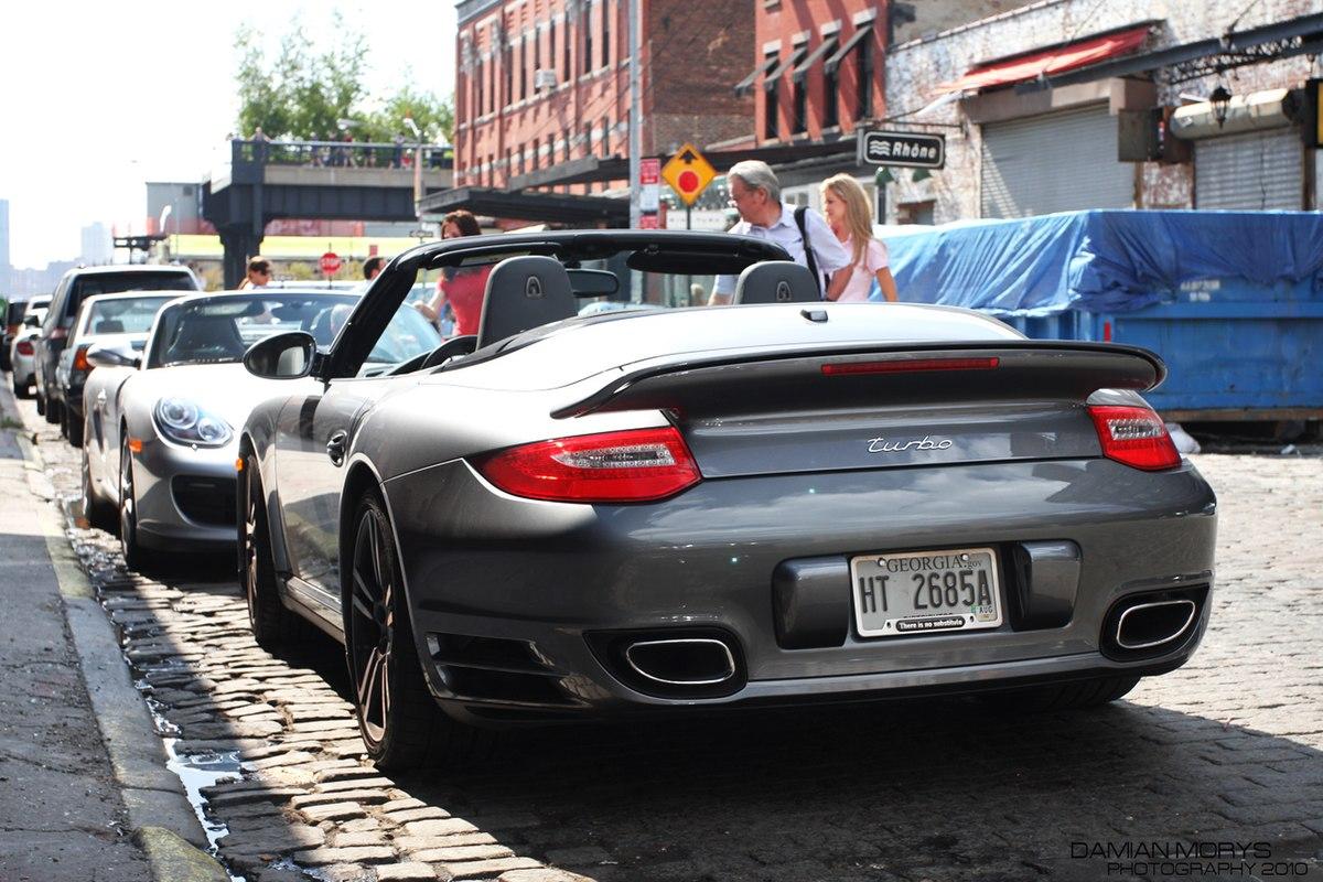 Ficheiro Grey Porsche 997 2 Turbo Cabriolet Rear Jpg Wikipedia A Enciclopedia Livre
