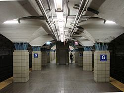 グローブ・ストリート駅 (パストレイン)