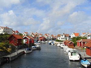 Grundsund - Image: Grundsund, Västra Götaland county (Sweden)