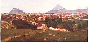 History of Guatemala City - Guatemala City in the 1870s