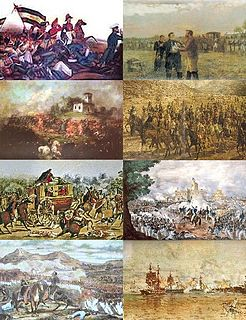 series of civil wars in Argentina between 1814 and 1876