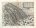 Guicciardini, Lodovico - Map of Amsterdam 1588.jpg