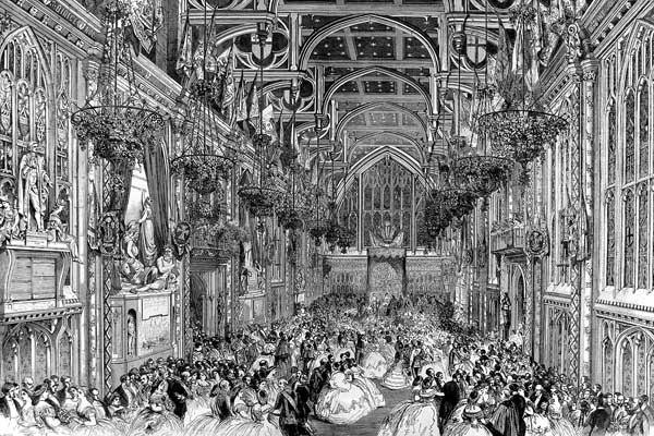 Guildhall Queen Victoria ILN 1863